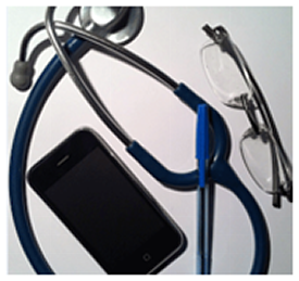 Phone and Stethoscope